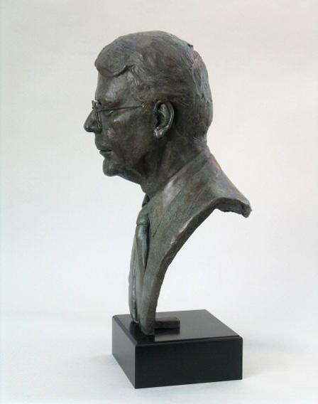 Sir John Major - Bronze - Life size