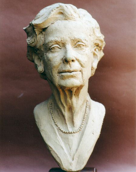 Madame Madelaine Chambaud - Terracotta - Half size