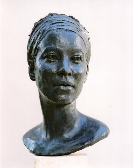 Indigo Girl - Bronze - Life size