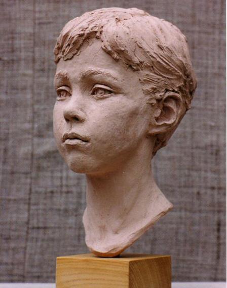 Harry Harste - Terracotta - Life size