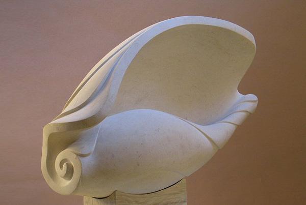 Shell - Ancaster stone - H:58cm, W:78cm (Photograph: John Clayden)