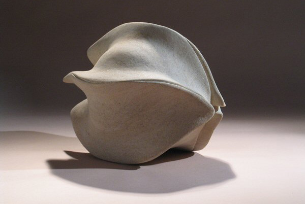 Seed pod - Ancaster stone - H:30cm, L:40cm (Photograph: John Clayden)