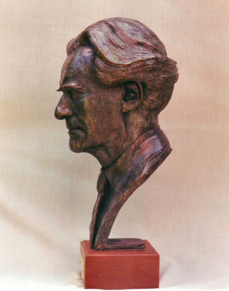 Lord Heseltine - Bronze - Life size