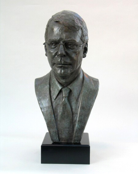 Sir John Major - Bronze - Life size